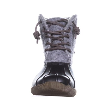 Steve Madden Torrent Short Rain Boots, Grey Multi - image 5 of 6