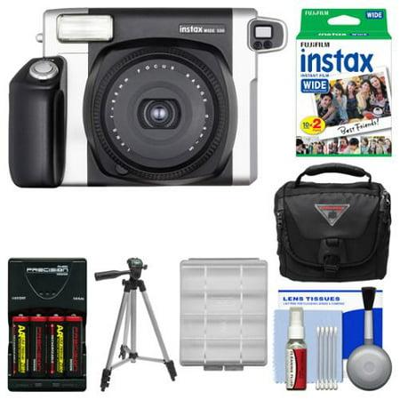 Fujifilm Instax Wide 300 Instant Film Camera with 20 Wide Tw