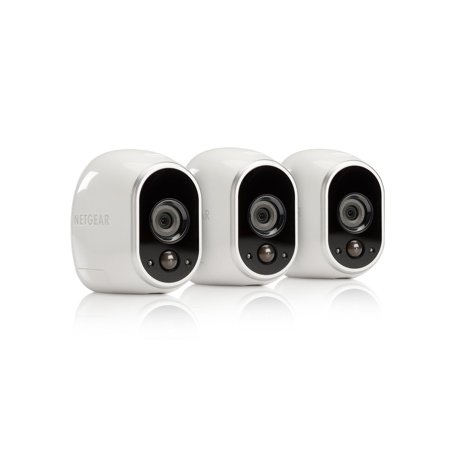 arlo smart home security system with 3 hd 100 wire free. Black Bedroom Furniture Sets. Home Design Ideas