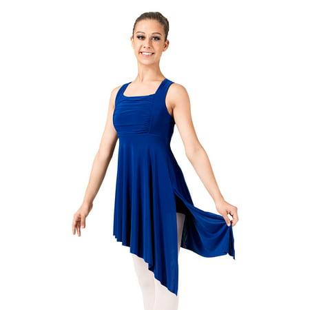 Adult Twist Back Lyrical Dress