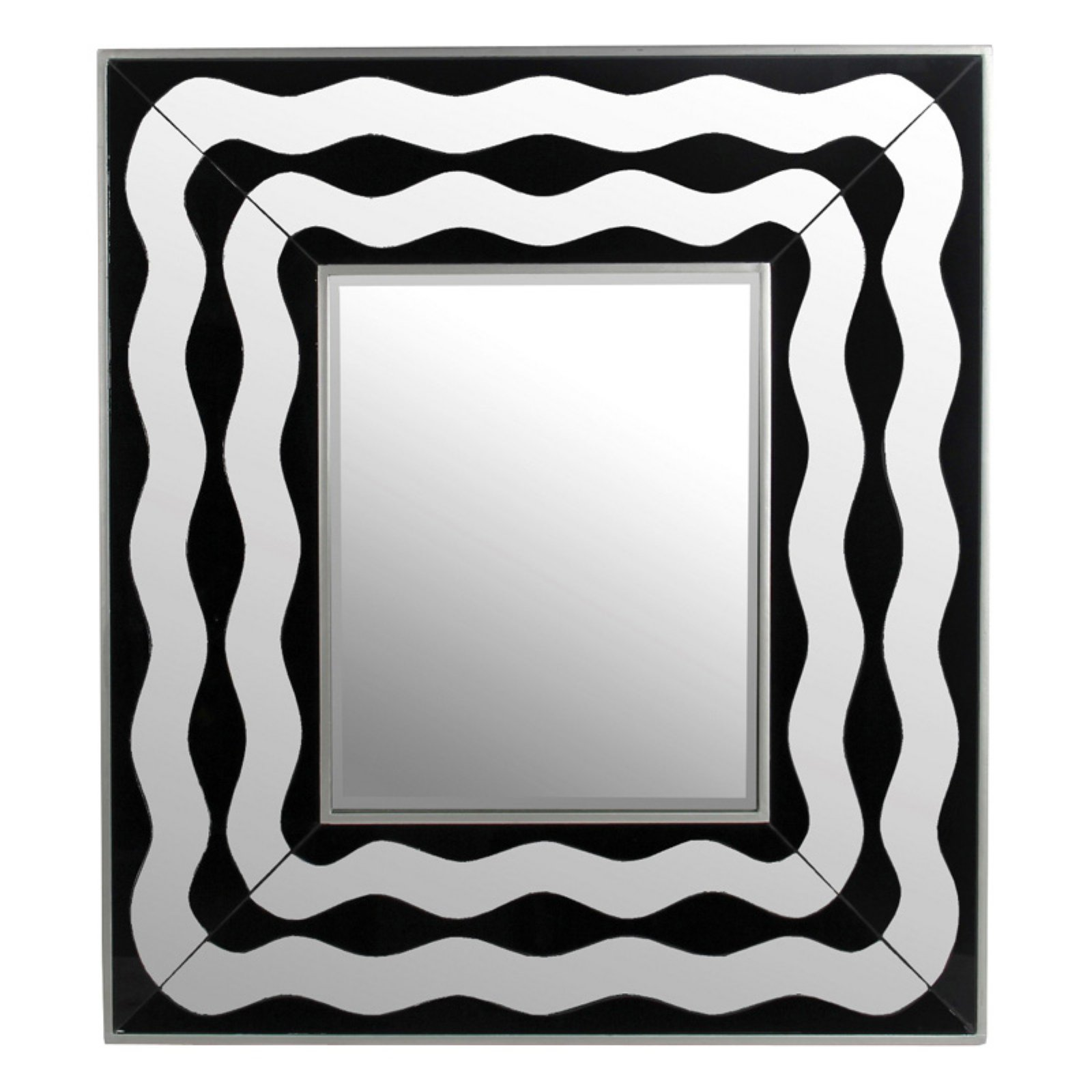 Privilege International Rectangle Wall Mirror - 31.5W x 35.5H in.