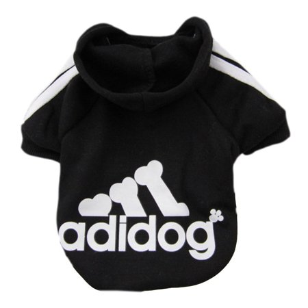 Turtle Dog Costume (Pet Puppy Dog Cat Coat Clothes Hoodie Sweater Costumes Black)