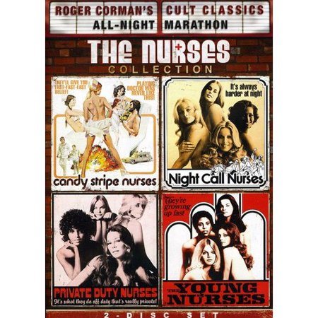Roger Corman Cult Classics  The Nurses Collection   Private Duty Nurses   Night Call Nurses   Young Nurses   Candy Stripe Nurses  Widescreen