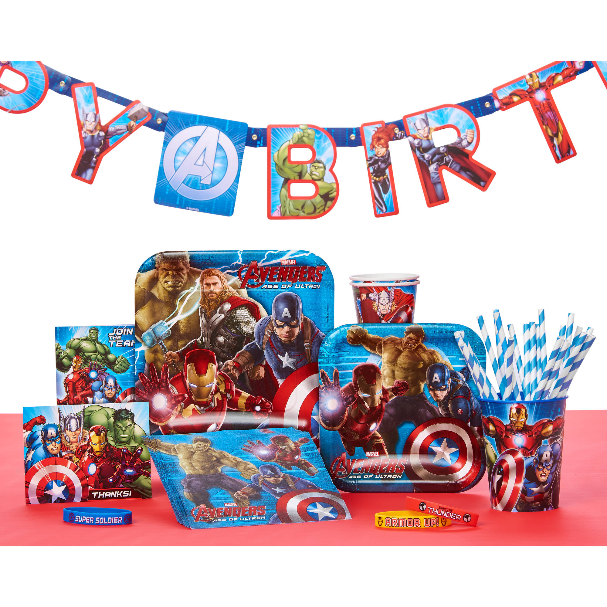 Marvel Avengers Treat Bags Pack of 8 Party Supplies Walmart