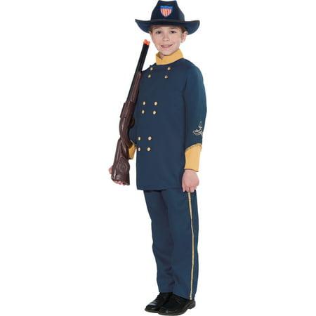 Union Officer Costume (Morris costumes FM69925 Union Officer Child)