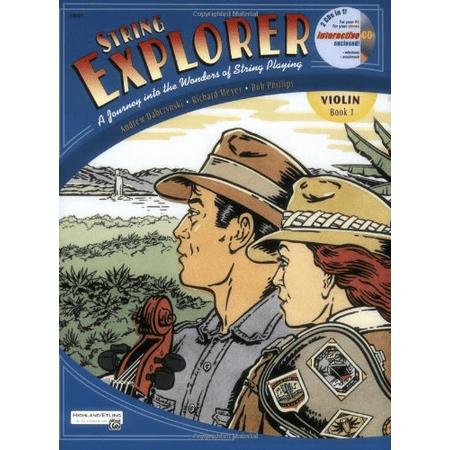Alfred String Explorer (String Explorer: Violin Book 1)