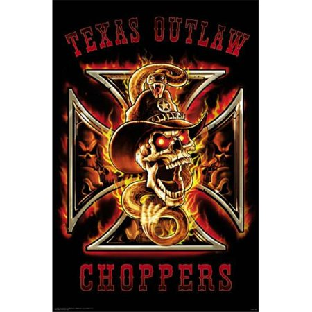 Hot Choppers - Hot Stuff 2571-16x20-SD Outlaw Choppers Poster