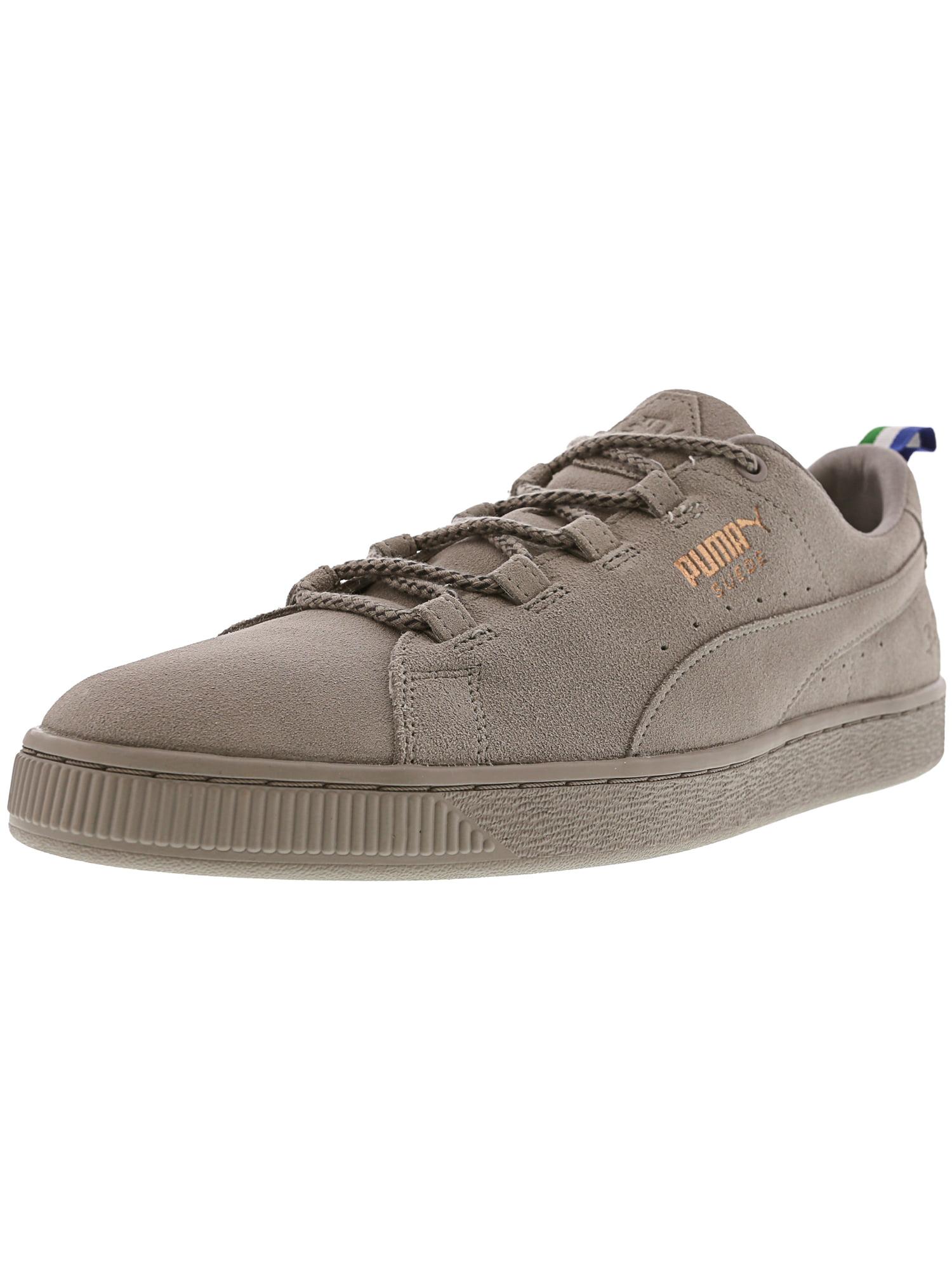 Puma Men's Suede Big Sean Ash / Ankle-High Fashion Sneaker - 11.5M