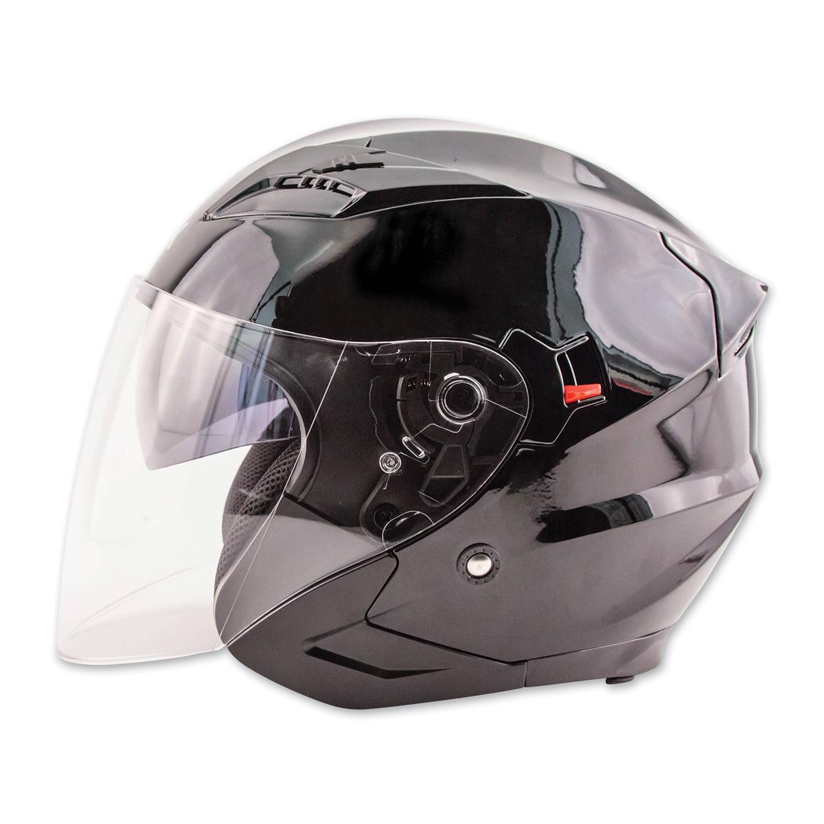 Zox  Journey White Open Face Helmet