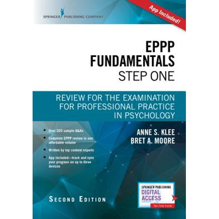 Eppp Fundamentals, Step One, Second Edition : Review for the Examination for Professional Practice in