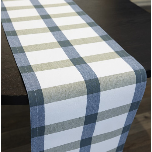 Flato Home Products Check Reversible Runner
