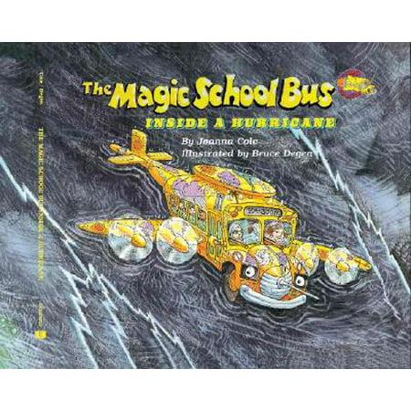 Magic School Bus (Paperback): The Magic School Bus Inside a Hurricane - Kids Halloween Magic School Bus
