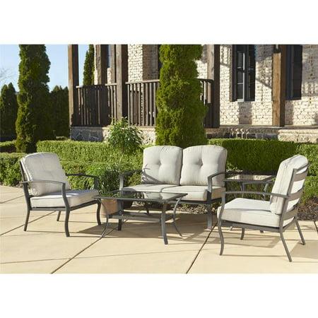 Cosco Outdoor 5 Piece Serene Ridge Aluminum Patio Furniture