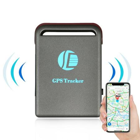 EEEKit Mini Gps Tracker Quad Band Realtime Smallest Spy Car GPS Mini Waterproof System Tracker TK102B with TF (Mini Quad Band)