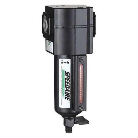 """SPEEDAIRE Compressed Air Filter,1/2"""" NPT,250 psi 4ZL41"""