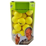 Almost Golf P3 Limited Flight Practice Golf Balls Yellow (36 Pack)