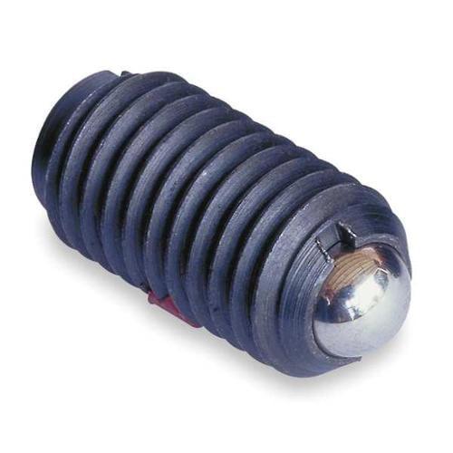 TE-CO 52909X Plunger, Ball W/Out Lock, 1/4-20, 17/32, PK5