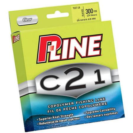 P-Line C21 300-Yard Copolymer Spool, 30 lbs