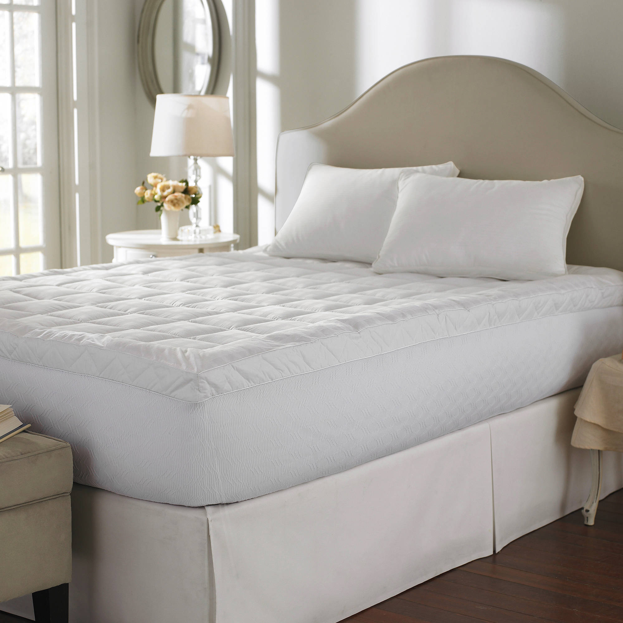 Cuddle Bed 400-Thread-Count Mattress Topper in Multiple Sizes