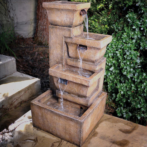 Ashboro Outdoor Fountain by Fountains