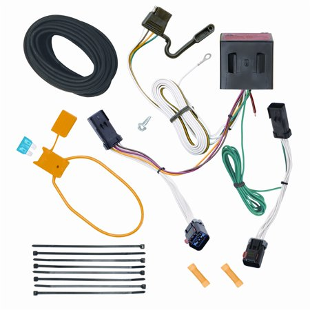 vehicle to trailer wiring harness connector for 02 07 jeep. Black Bedroom Furniture Sets. Home Design Ideas