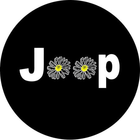 Isuzu Spare Tire Cover - Jeep Daisy Spare Tire Cover