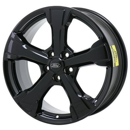 FORD ESCAPE 2017 - 2018 GLOSS BLACK Factory OEM Wheels Rims (Not Replicas) Ford Escape Rims