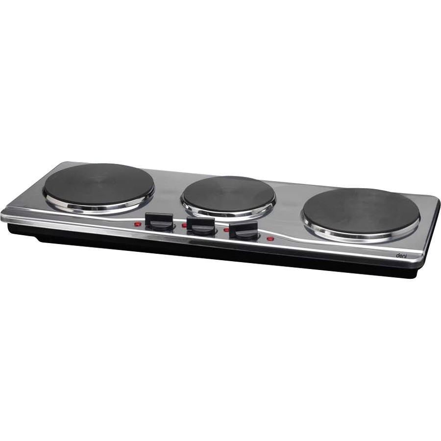 Deni Table Top Burner   Triple Plate