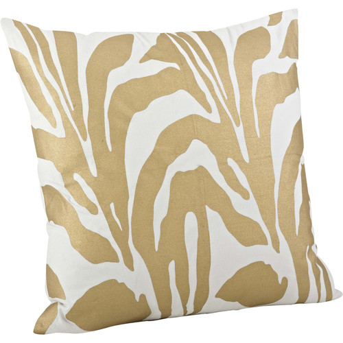 Saro Malawi Animal Print Cotton Throw Pillow