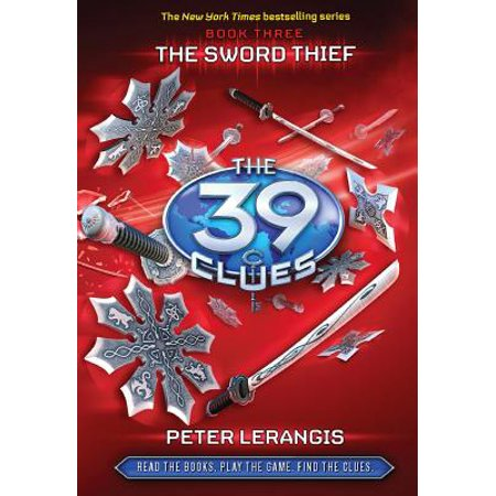 39 Clues: The Sword Thief (Hardcover) - Narnia Peter Sword