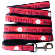 Pets First MLB Los Angeles Angels Cats and Dogs Durable Pet Leash, Large