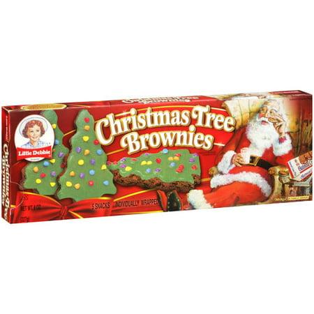 Little Debbie Snacks Christmas Tree Brownies 5 Ct 8 Oz