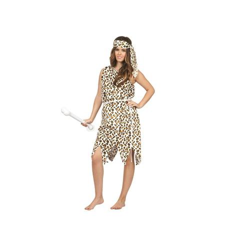 Halloween Cavewoman (Plush Cavewoman Costume)