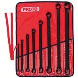 Stanley Proto J1100MB 12 Point Black Oxide Box Wrench Set, 8-pk