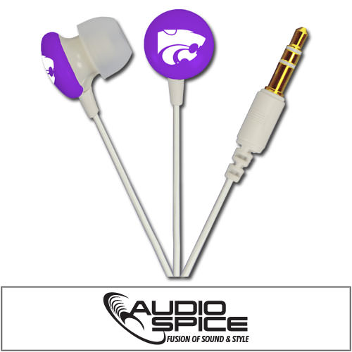 Kansas State Wildcats Ignition Earbuds