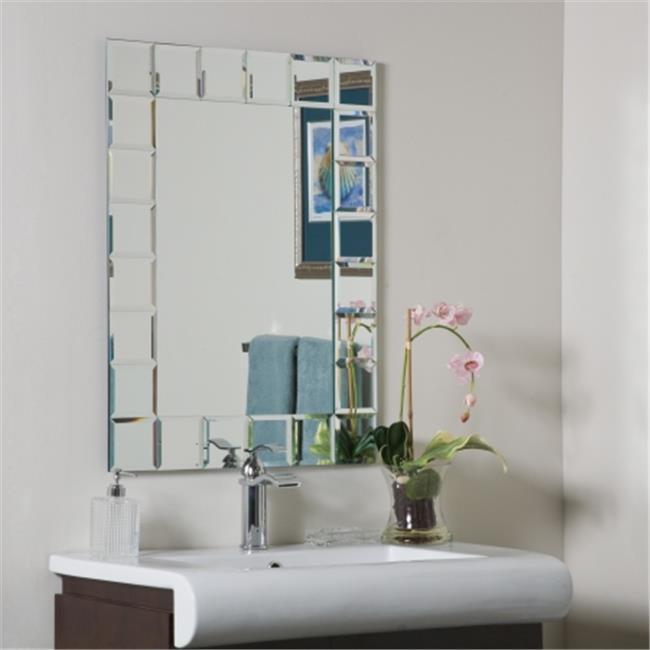 Decor Wonderland SSM414-1 Montreal Modern Bathroom Mirror by Decor Wonderland