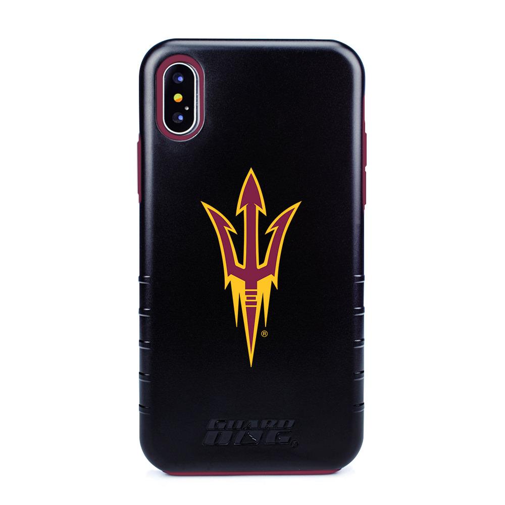 Arizona State Sun Devils Hybrid Case for iPhone X / Xs - Black