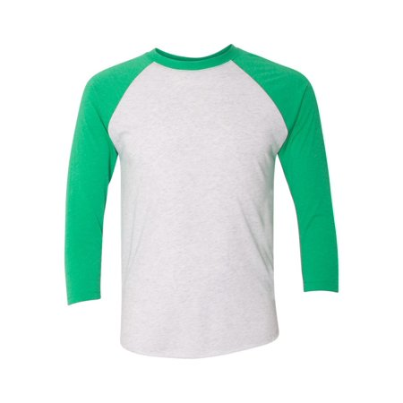 Next Level T-Shirts Unisex Tri-Blend Three-Quarter Sleeve Baseball Raglan Tee 6051