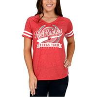 Product Image Women s Red Texas Tech Red Raiders Laurel Script V-Neck T- Shirt da789ff1c