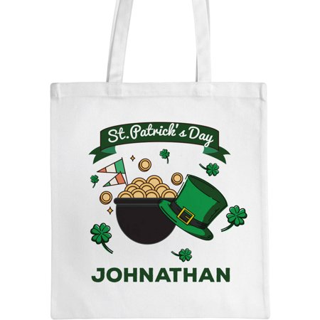 Personalized Pot of Gold Tote Bag, Sizes 11
