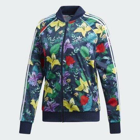 Adidas Blossom of Life SST Graphic Women's Track Jacket ED6584