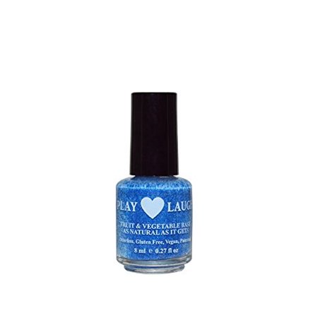 Nail Polish Water Based Sparkly Really Teally By Hugo Naturals - Really Easy Halloween Nails