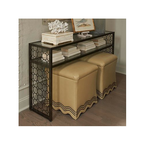 Drexel Heritage 24 Willow Crossing Focal Point Console Table