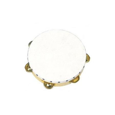 6 in. Plastic Rim Tambourine