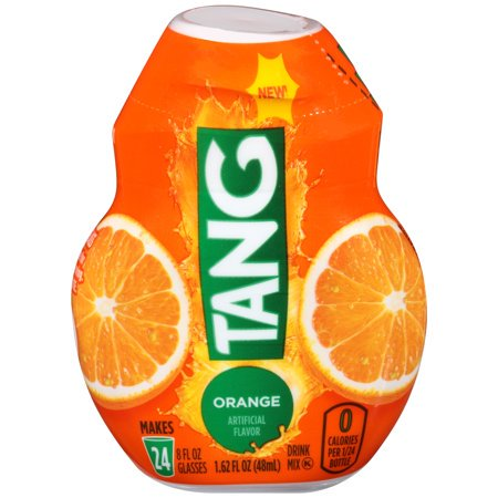 (12 Pack) Tang Orange Liquid Concentrate Drink Mix, 1.62 fl oz Bottle