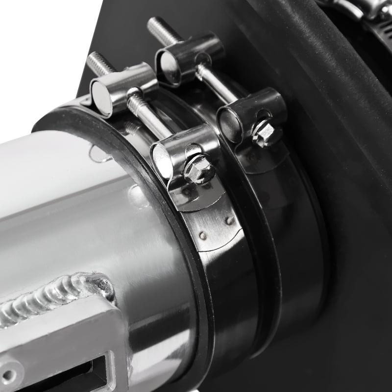 2009-2010 F150 2007-2014 Expedition 5.4L V8 Chrome Cold Air Intake+Black Filter