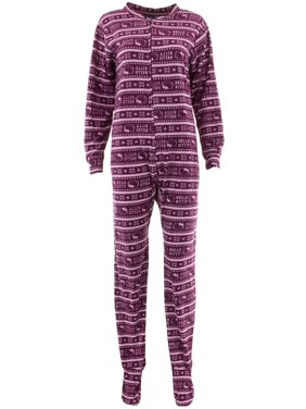 53c12a9c7 Product Image Hello Kitty Juniors Fair Isle Footed One-Piece Pajamas