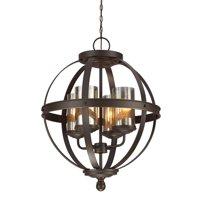 Sea Gull Lighting 3110404 Autumn Bronze Sfera 4 Light Cage Chandelier
