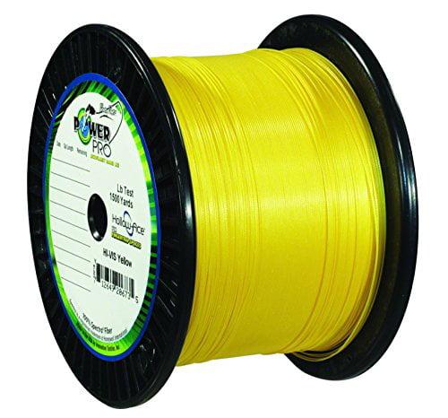 Power Pro Super 8 Slick Braided Line 150, 300, 1500yd Green//Blue//Yellow//Brown