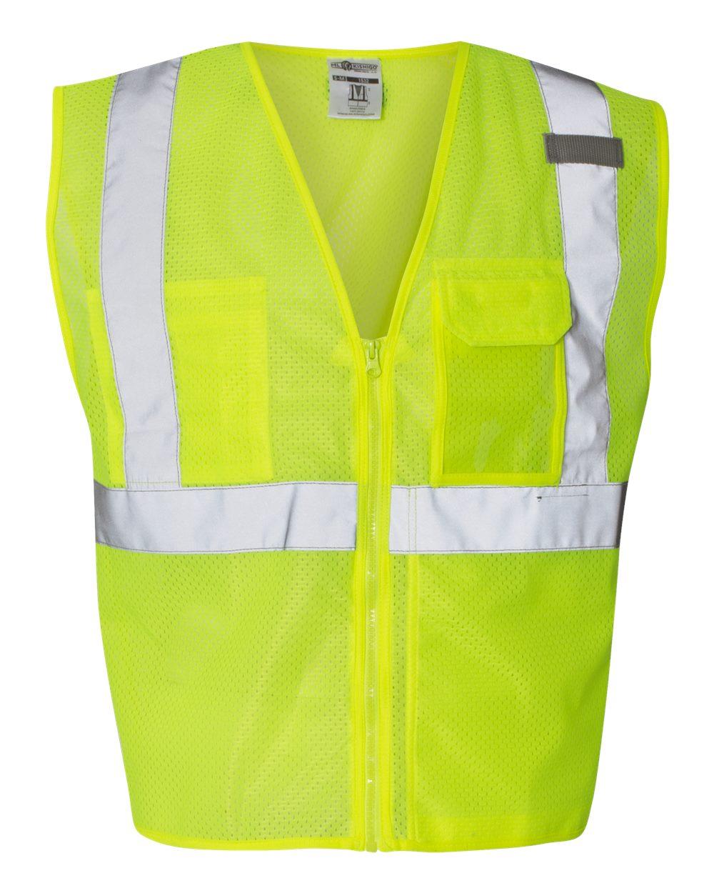 ML Kishigo - Clear ID Vest with Zipper Closure - 1532-1533